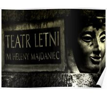 Summer theater named Helena Majdaniec Poster