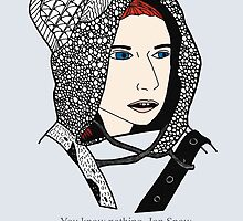Ygritte [ Print / Iphone / Ipod / Ipad ] by swelldame