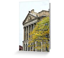"""Luzerne County Courthouse""  Greeting Card"