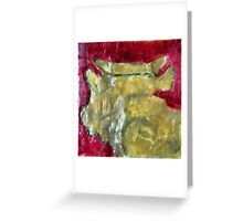 no pain in solitude Greeting Card