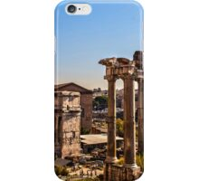 Rome - The Imperial Forums - HDR iPhone Case/Skin