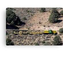Virginia and Truckee Railroad,Virginia City,Nevada USA Canvas Print