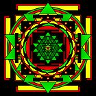 Sri Yantra Shine the love by shoffman