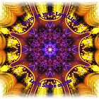 Love Fractal Mandala by shoffman