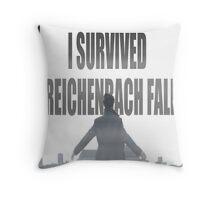 Reichenbach Fall Throw Pillow