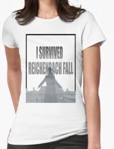 Reichenbach Fall Womens Fitted T-Shirt