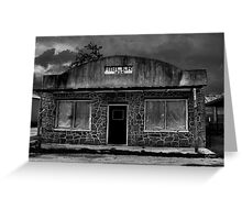 Hibler Country Store (B&W) Greeting Card