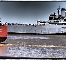 Mississippi Ships by Cyn Piromalli