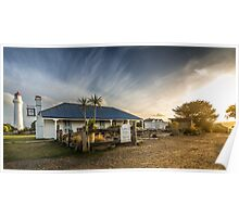 Aireys Inlet Sunset Poster