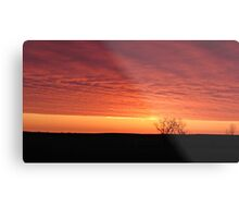 Blazing Plains Metal Print