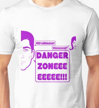 Dangah Zone PURPLE Unisex T-Shirt