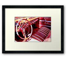 1959 Chevrolet Impala Coupe Framed Print