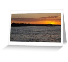 African Sunset #3 Greeting Card