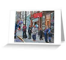 Casual Observer Greeting Card