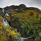 The Big Plateau Creek Drop - Lower Hairy Falls by Robert Mullner