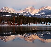 Sprague Lake Reflections by Bill Hendricks
