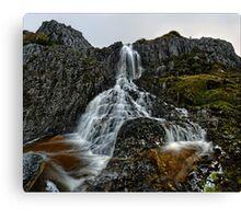 Upper Hairy Falls ~ Plateau Creek Drop Canvas Print