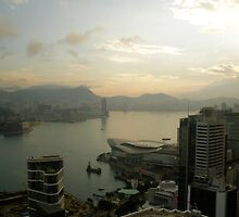 dawn over hong kong by teamgloria