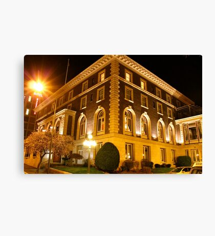 The Union Club of BC Canvas Print