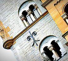 Architectural detail of Neuschwanstein castle by ©The Creative  Minds