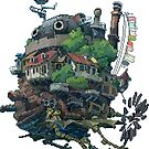 8bit Howl&#x27;s Moving Castle by ZoeTwoDots