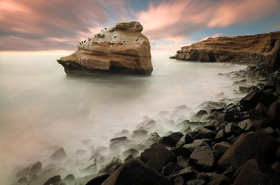 Sunset Cliffs by jswolfphoto