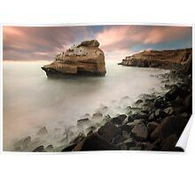 Sunset Cliffs Poster