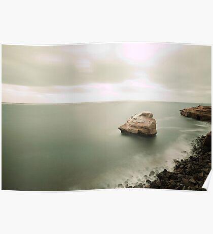 Sunset Cliffs 4 Poster