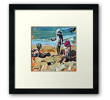 Summer Holiday Framed Print