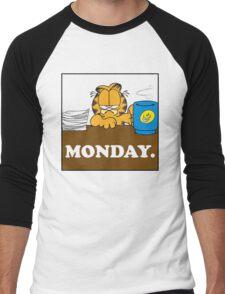 Garfield I Hate Monday Men's Baseball ¾ T-Shirt