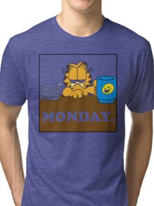 Garfield I Hate Monday Tri-blend T-Shirt