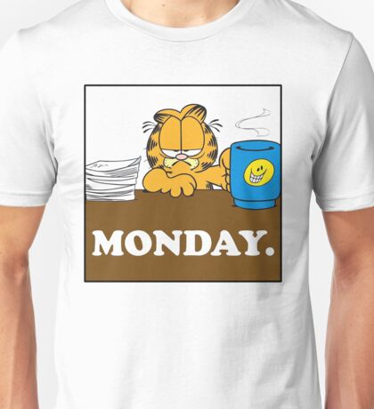 Garfield I Hate Monday Unisex T-Shirt