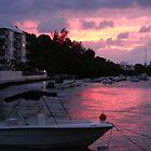Bermuda - Sunset on the water by islandphotoguy