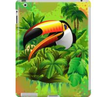 Toucan on Wild Green Jungle  iPad Case/Skin
