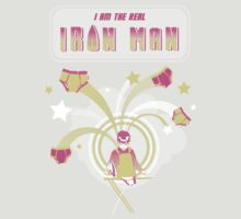 I am the real Iron Man. by ninablah