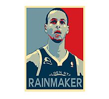 Stephen Curry - Rainmaker Photographic Print