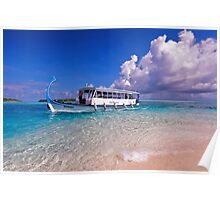 In Harmony with Nature. Maldives Poster
