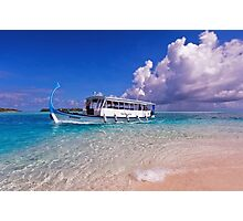In Harmony with Nature. Maldives Photographic Print