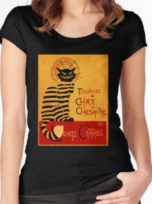 Chat du chesire Women's Fitted Scoop T-Shirt