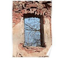 window aperture Poster