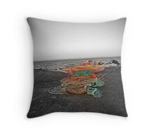 Trawlers net Throw Pillow