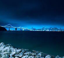 San Francisco w/ Bay Bridge by priyankappatel