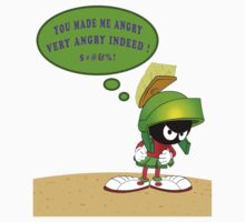 Martin The Martian Angry by rmcadams