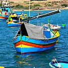 Marsaxlokk Boats by sgrixti