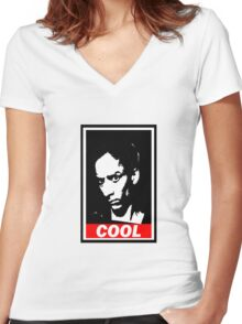 Abed, Cool Women's Fitted V-Neck T-Shirt
