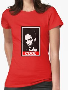 Abed, Cool Womens Fitted T-Shirt
