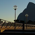 3 lights, 1 fence & 1 Opera House! by PhotosByG