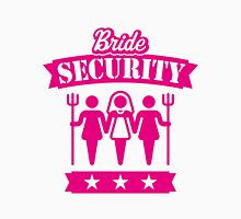 Bride Security (Hen Party / Pink) Womens Fitted T-Shirt
