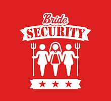 Bride Security (Hen Party / White) Womens Fitted T-Shirt