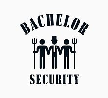 Bachelor Security (Stag Night / Black) Unisex T-Shirt